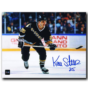 Kevin Stevens Pittsburgh Penguins Autographed 8x10 Photo - CoJo Sport Collectables Inc.