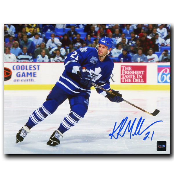 Kirk Muller Toronto Maple Leafs Autographed Skating 8x10 Photo