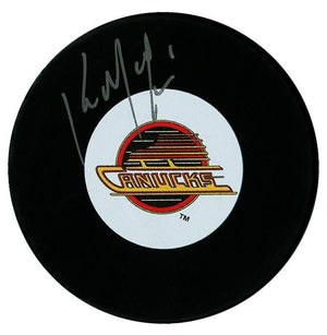Kirk McLean Autographed Vancouver Canucks Puck Autographed Hockey Pucks CoJo Sport Collectables