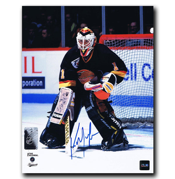 Kirk McLean Vancouver Canucks Autographed 8x10 Photo Autographed Hockey 8x10 Photos CoJo Sport Collectables