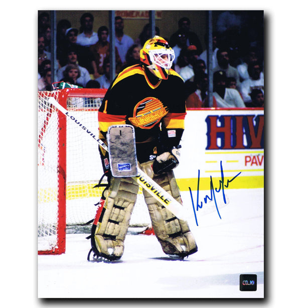 Kirk McLean Vancouver Canucks Autographed 8x10 Photo - CoJo Sport Collectables Inc.