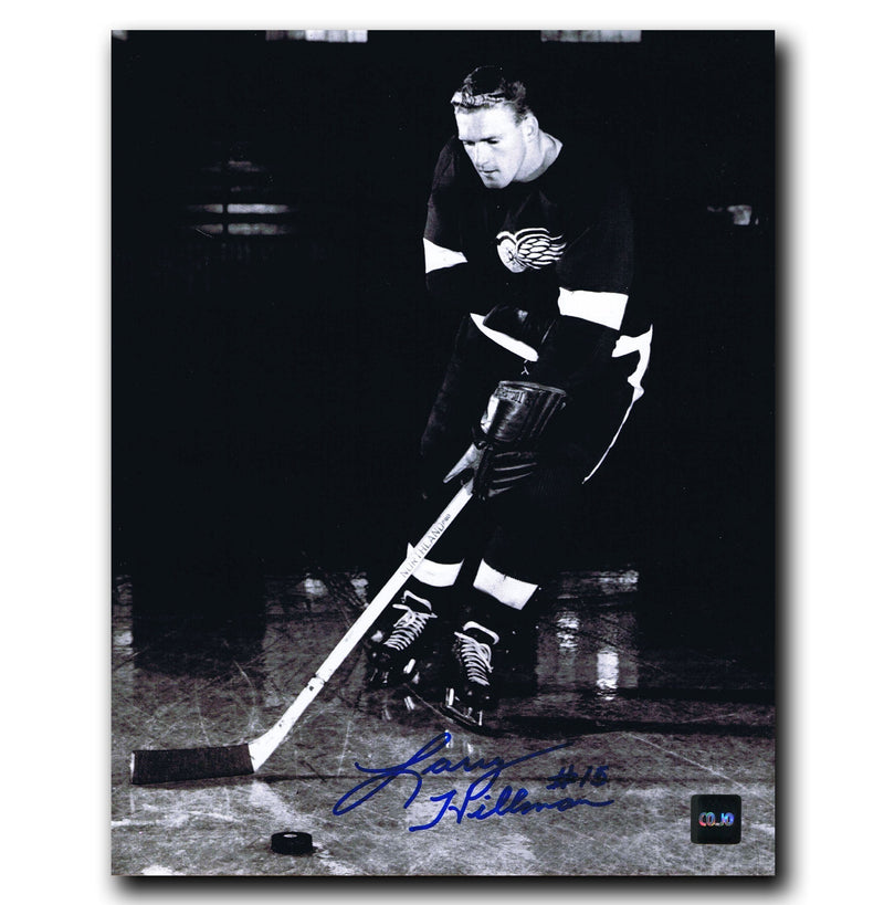 Larry Hillman Detroit Red Wings Autographed 8x10 Photo CoJo Sport Collectables