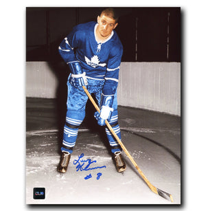 Larry Keenan Toronto Maple Leafs Autographed 8x10 Photo - CoJo Sport Collectables Inc.