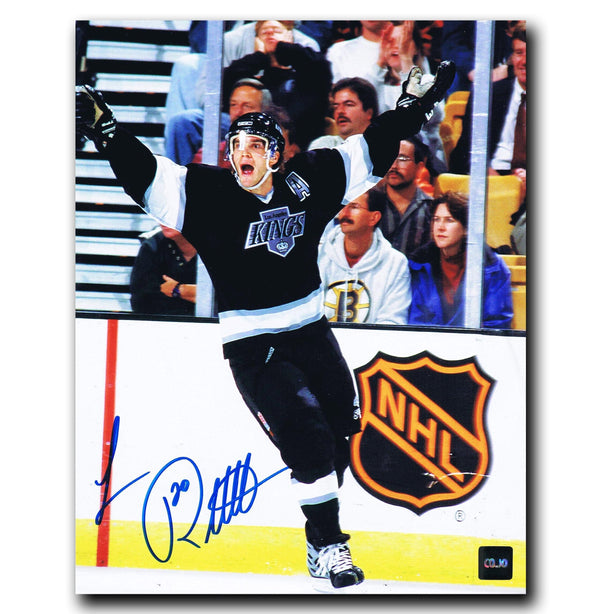 Luc Robitaille Los Angeles Kings Autographed 8x10 Photo - CoJo Sport Collectables Inc.