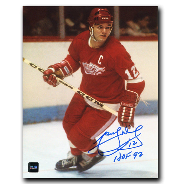 Marcel Dionne Detroit Red Wings Autographed 8x10 Photo Autographed Hockey 8x10 Photos CoJo Sport Collectables