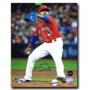 Marcus Stroman Toronto Blue Jays Autographed Canada Day 8x10 Photo - CoJo Sport Collectables Inc.