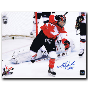 Marie-Philip Poulin Team Canada Autographed 8x10 Photo Autographed Hockey 8x10 Photos CoJo Sport Collectables