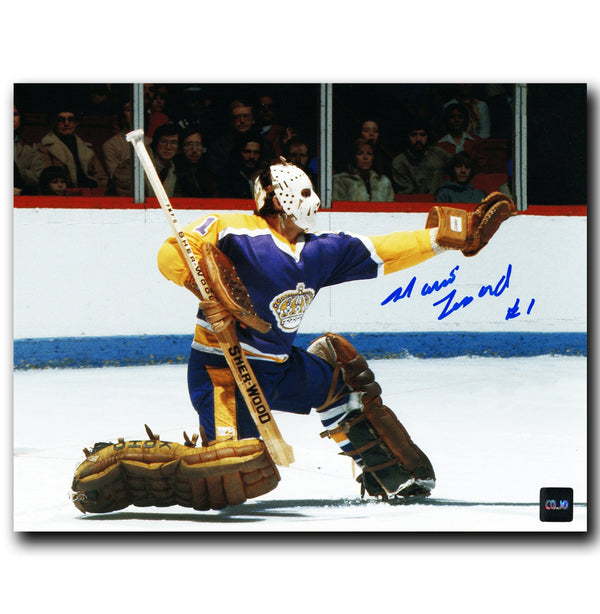 Mario Lessard Los Angeles Kings Autographed 8x10 Save Photo - CoJo Sport Collectables Inc.