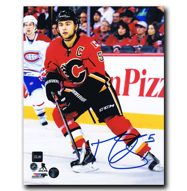 Mark Giordano Calgary Flames Autographed 8x10 Photo - CoJo Sport Collectables Inc.