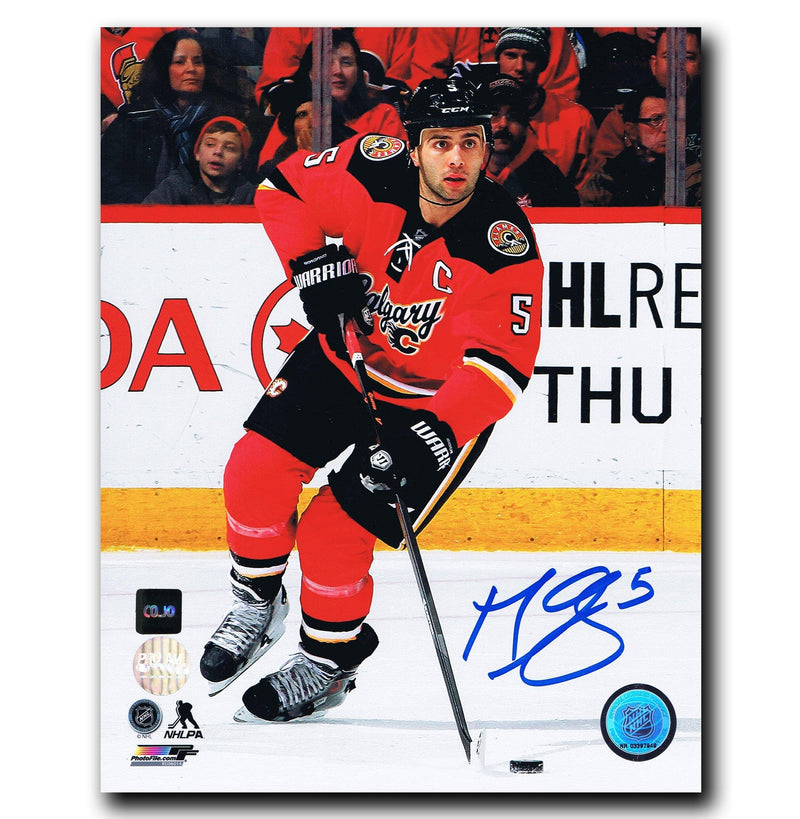Mark Giordano Calgary Flames Autographed 8x10 Photo CoJo Sport Collectables