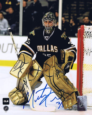 Marty Turco Dallas Stars Autographed 8x10 Photo - CoJo Sport Collectables Inc.