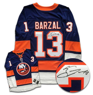 Mathew Barzal New York Islanders Autographed Fanatics Jersey - CoJo Sport Collectables Inc.