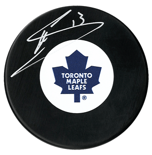 Mats Sundin Autographed Toronto Maple Leafs Puck - CoJo Sport Collectables Inc.