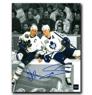 Mats Sundin and Doug Gilmour Toronto Maple Leafs Dual Autographed 8x10 Photo - CoJo Sport Collectables Inc.