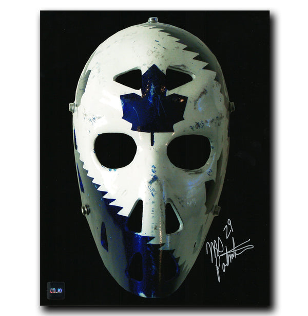 Mike Palmateer Toronto Maple Leafs Autographed Mask 8x10 Photo - CoJo Sport Collectables Inc.