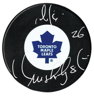 Mike Krushelnyski Autographed Toronto Maple Leafs Puck - CoJo Sport Collectables Inc.