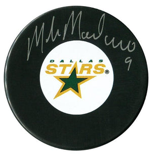 Mike Modano Autographed Dallas Stars Puck - CoJo Sport Collectables Inc.
