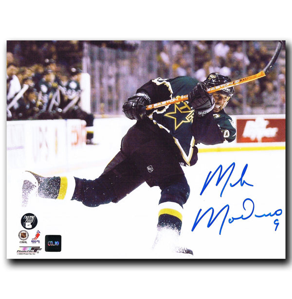 Mike Modano Dallas Stars Autographed 8x10 Photo Autographed Hockey 8x10 Photos CoJo Sport Collectables