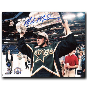 Mike Modano Dallas Stars Autographed Stanley Cup 8x10 Photo - CoJo Sport Collectables Inc.