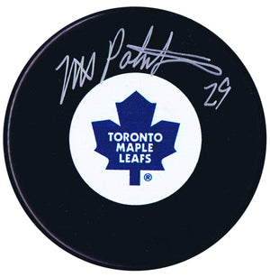 Mike Palmateer Autographed Toronto Maple Leafs Puck - CoJo Sport Collectables Inc.