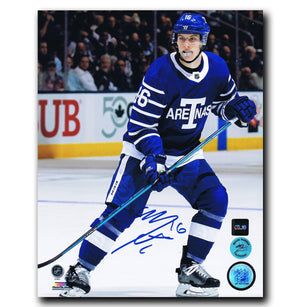 Mitch Marner Toronto Maple Leafs Autographed Toronto Arenas 8x10 Photo - CoJo Sport Collectables Inc.