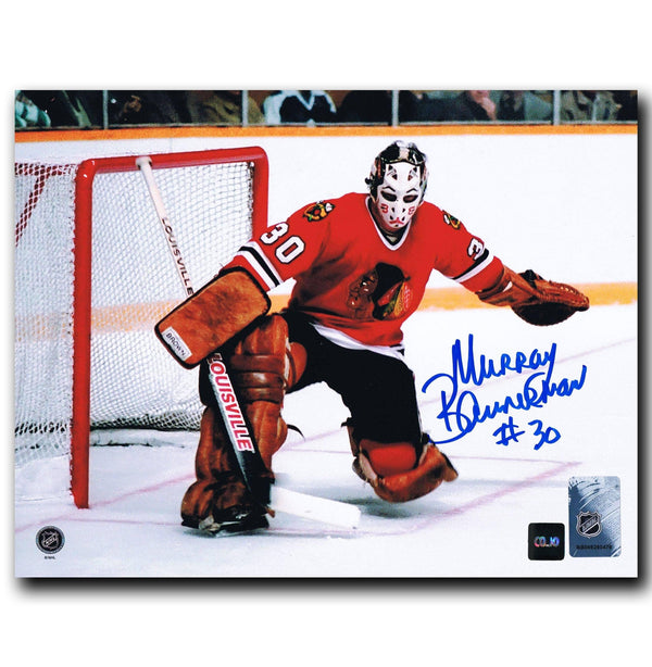 Murray Bannerman Chicago Blackhawks Autographed 8x10 Photo Autographed Hockey 8x10 Photos CoJo Sport Collectables