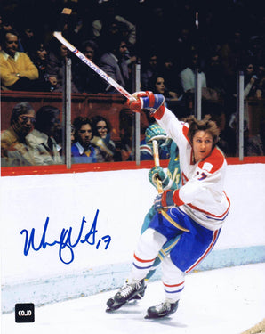 Murray Wilson Montreal Canadiens Autographed 8x10 Photo