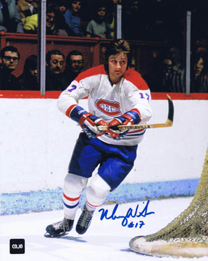 Murray Wilson Montreal Canadiens Autographed 8x10 Photo - CoJo Sport Collectables Inc.