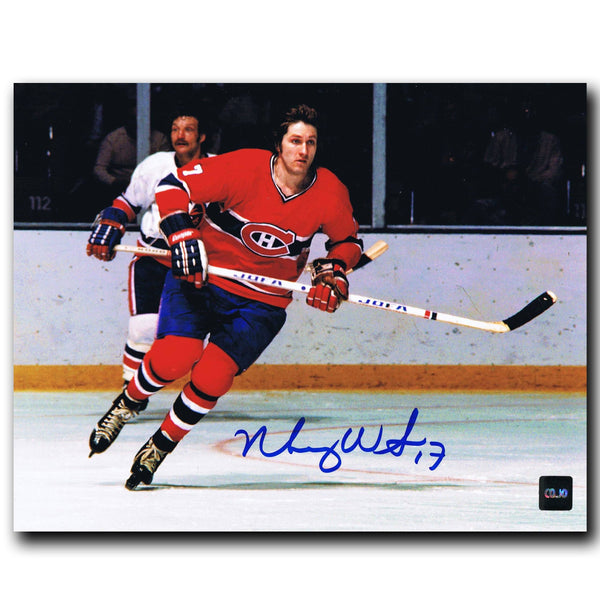 Murray Wilson Montreal Canadiens Autographed 8x10 Photo Autographed Hockey 8x10 Photos CoJo Sport Collectables