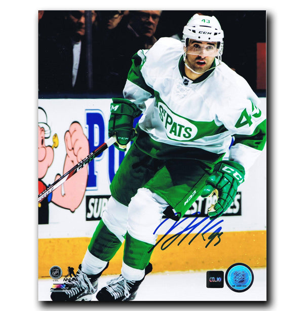 Nazem Kadri Toronto Maple Leafs Autographed Toronto St. Pats 8x10 Photo - CoJo Sport Collectables Inc.