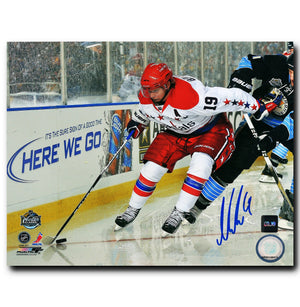 Nicklas Backstrom Washington Capitals Autographed Winter Classic 8x10 Photo