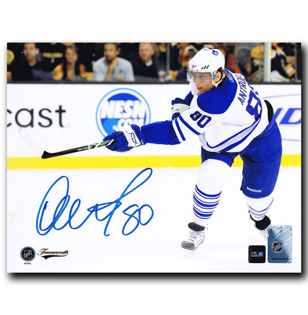 Nik Antropov Toronto Maple Leafs Autographed 8x10 Photo Autographed Hockey 8x10 Photos CoJo Sport Collectables