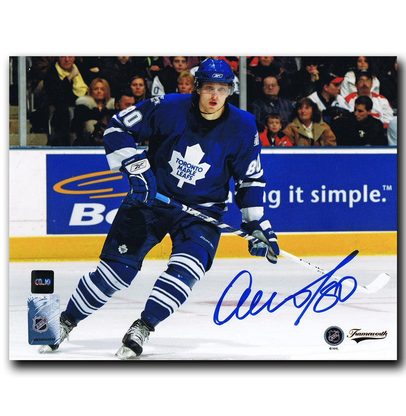 Nik Antropov Toronto Maple Leafs Autographed 8x10 Photo CoJo Sport Collectables