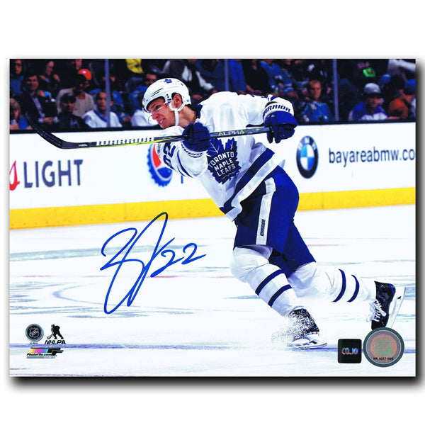 Nikita Zaitsev Toronto Maple Leafs Autographed 8x10 Photo Autographed Hockey 8x10 Photos CoJo Sport Collectables
