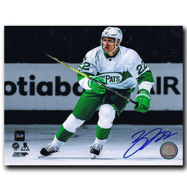 Nikita Zaitsev Toronto Maple Leafs Autographed Toronto St. Pats Autographed 8x10 Photo Autographed Hockey 8x10 Photos CoJo Sport Collectables