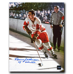 Norm Ullman Detroit Red Wings Autographed 8x10 Photo - CoJo Sport Collectables Inc.