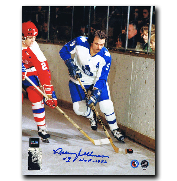 Norm Ullman Toronto Maple Leafs Autographed 8x10 Photo Autographed Hockey 8x10 Photos CoJo Sport Collectables