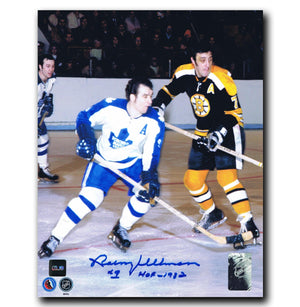 Norm Ullman Toronto Maple Leafs Autographed 8x10 Photo - CoJo Sport Collectables Inc.