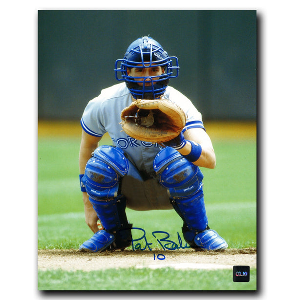 Pat Borders Toronto Blue Jays Autographed 8x10 Photo - CoJo Sport Collectables Inc.