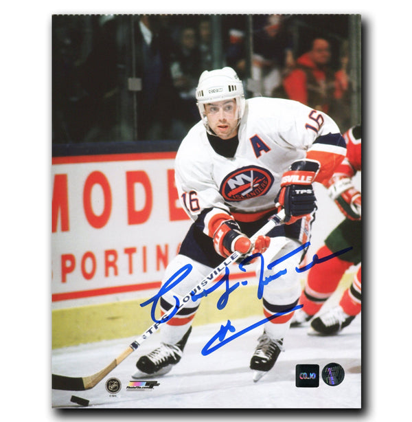 Pat LaFontaine New York Islanders Autographed 8x10 Photo Autographed Hockey 8x10 Photos CoJo Sport Collectables