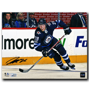 Patrik Laine Winnipeg Jets Autographed Action 8x10 Photo
