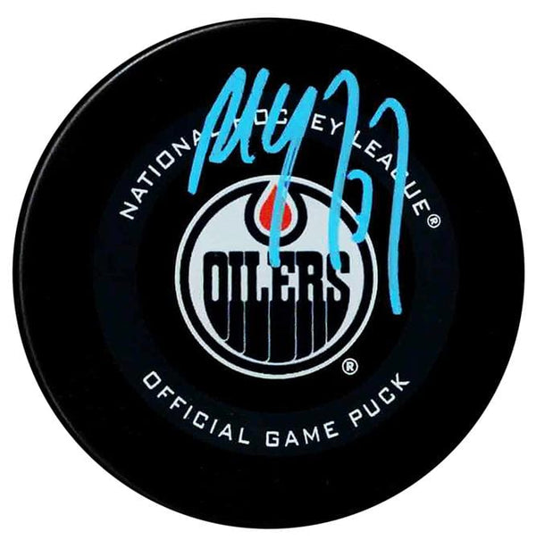Paul Coffey Autographed Edmonton Oilers Official Puck
