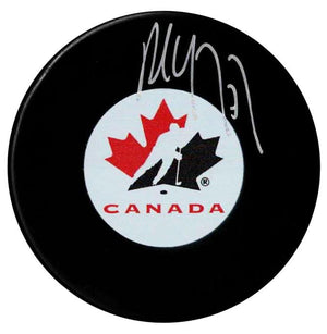 Paul Coffey Autographed Team Canada Puck