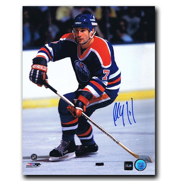 Paul Coffey Edmonton Oilers Autographed 11x14 Photo - CoJo Sport Collectables Inc.