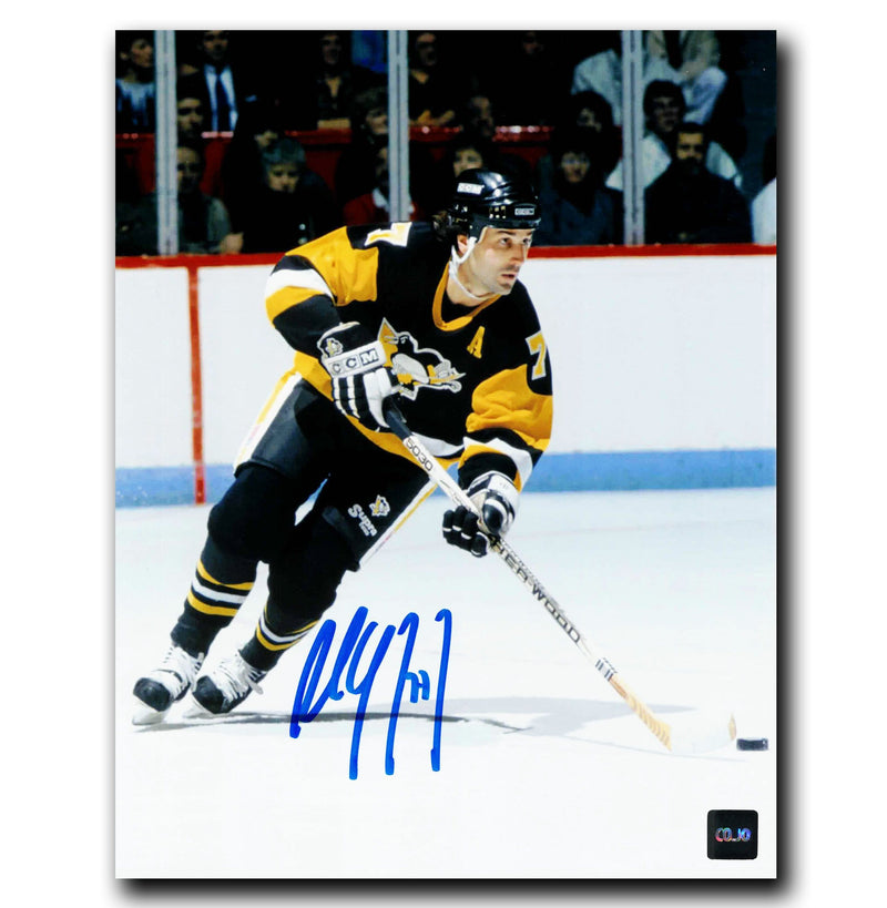 Paul Coffey Pittsburgh Penguins Autographed 8x10 Photo CoJo Sport Collectables Inc.