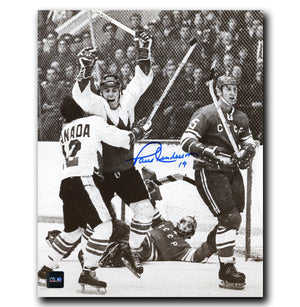 Paul Henderson Team Canada Autographed 1972 Summit Series 8x10 Photo Autographed Hockey 8x10 Photos CoJo Sport Collectables