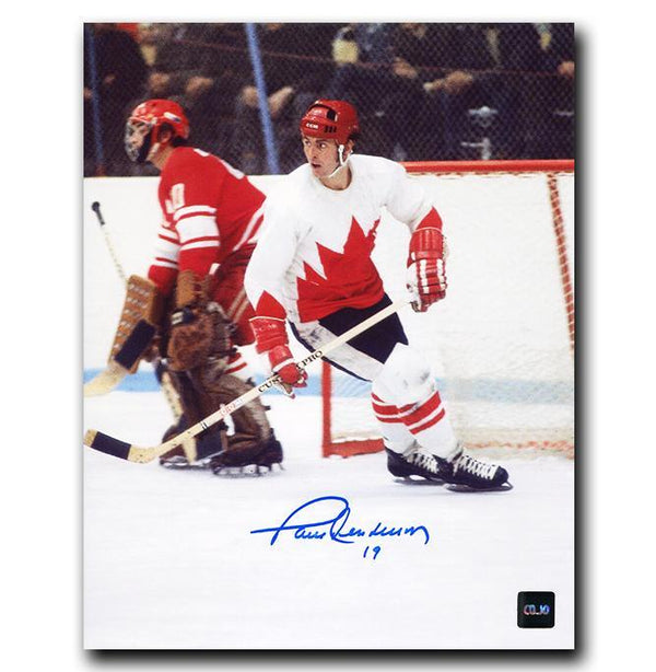 Paul Henderson Team Canada Autographed 8x10 Photo - CoJo Sport Collectables Inc.