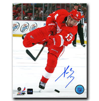 Pavel Datsyuk Detroit Red Wings Autographed 8x10 Photo