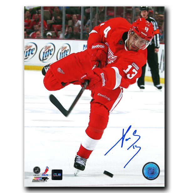 Pavel Datsyuk Detroit Red Wings Autographed 8x10 Photo - CoJo Sport Collectables Inc.