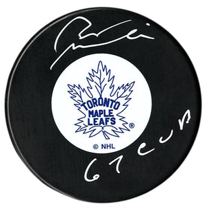 Pete Stemkowski Autographed Toronto Maple Leafs Stanley Cup Puck - CoJo Sport Collectables Inc.
